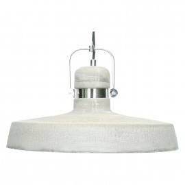 FELIA - Hanglamp E27 - metaal - beton -  Ø39x29 cm