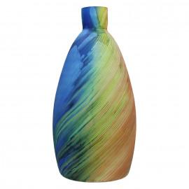 MURATO - Vase - glas - multicolor  - L -Ø20,5 x 46 cm