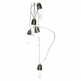 BULBS - guirlande - verre - DIA 6 x L 270 cm