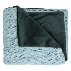 ANATOLY - plaid - nepbont - polyester/microfiber - grijstinten - 125x150cm