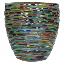 CALICE - t/light - glass - multicolor - M - Ø 12 x 13 cm
