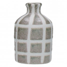 STUDIO - vase - ceramic - grey - 10x10x16cm