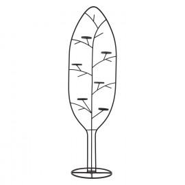 TRÄD - candle holder tree - metal - M - 46x35x160cm