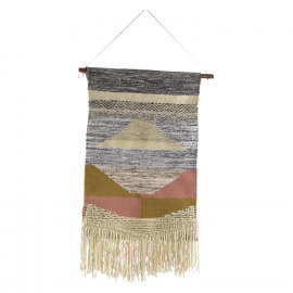 NATIVE - wall hanging - recycled wool - 60x95cm