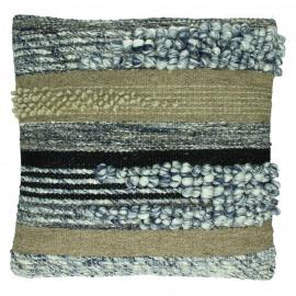 CHULUUN - geweven wol/ jutte - 45x45cm
