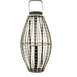 OTARU - lantern - bamboo - naturel/black - L - 41x41x78cm