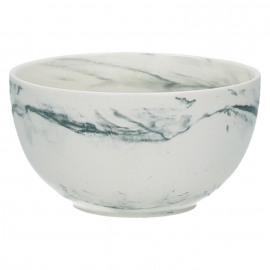 EDGE - soup bord - steengoed - gemende klei - mat grijs - Ø 14 x H 7,5 cm