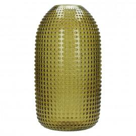 POP UP - vaas - glas - amber - S - 15,5x15,5x29,5cm
