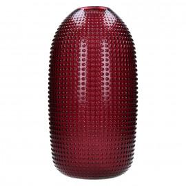 POP UP - vaas - glas - bordeaux - L - 19,5x19,5x39,5cm