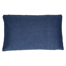 OMBRE - cushion - 100% cotton - dark blue - 30x50cm
