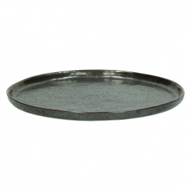 PORCELINO BRONZE - assiette dessert - porcelaine - DIA 21 cm - bronze