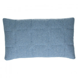 SHINJUKU - cushion - 65% wool/ 35% div - blue - 30x50cm