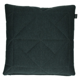 SHINJUKU - coussin - 100% coton/jersey - gris foncé  - 45x45cm