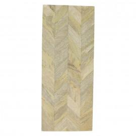 ZIG.ZAG - Dienblad - mangohout - 50 x 20 x 4 cm