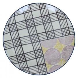 VIVICA - dessert plate - porcelain - D 20,5x2,5 cm