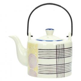 VIVICA - teapot - porcelain - 16,5x12x12 cm