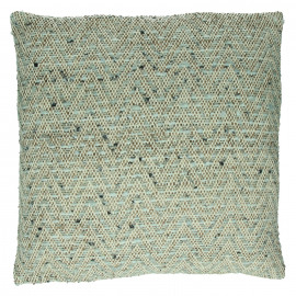 GABY - coussin - coton - L 45 x W 45 cm - gris
