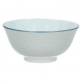 DELICATE - bowl - porselein - lichtblauw - S - Ø12x6cm