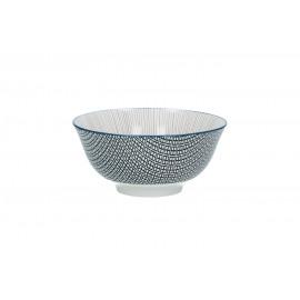 DELICATE - bowl - porcelain - ash rose - L - Ø15x7cm