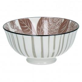 MYSTERIOUS - bowl - porselein - violet quartz - S - Ø12x6cm