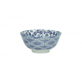CHIYO - bowl - porcelain - chinese ink - L - Ø15x7cm