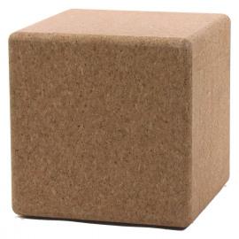 KOREK - vierkant krukje - kurk - 40x40xh41