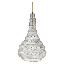 LOLO - hanglamp - metaal - L 30 x W 30 x H 78 cm - brass