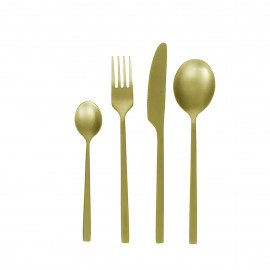 SERENITY - Cutlery - inox 18/0 - Set 24 - gold