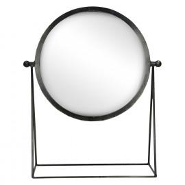 BE PRETTY - spiegel op voet - metaal - 36x16,5xh43,5 cm
