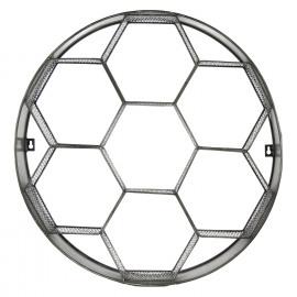 GRAPHIC - rond schap - metaal - tin - Ø60x14 cm