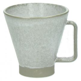 TERRA - mug L - keramiek - wit - DIA 10 x H 10,5cm