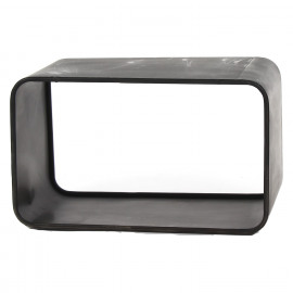GRAPHIC - bijzettafeltje - metaal - tin - 50x30xh30,5 cm