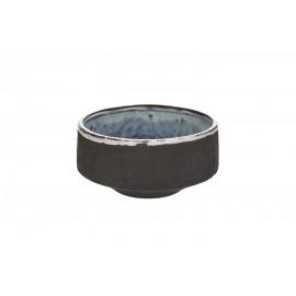 TENDO - kom - aardewerk - DIA 15 x H 7 cm - smoke
