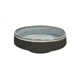 TENDO - salad bowl - stoneware - smoke - Ø27,5xh9,5