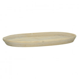 HANDA - set of 2 trays - bamboo - naturel - 47,5x30x4 / 53x26x4cm