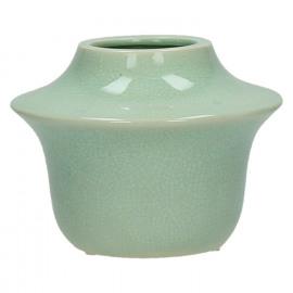 YÔRI - vase - ceramic - celadon - S - DIA 15 x H 11,5cm