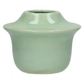 YÔRI - vaas - keramiek - celadon - M - DIA 20 x H 15,5cm