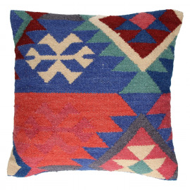 BARACOA - Cushion - Kelim/Wool & Cotton - 45x45cm