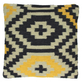 SAN LUIS - Cushion Native Patterns - Kelim/Wool & Cotton - 45x45cm