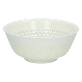 STRUCTURE - bol - porcelaine - DIA 15 x H 7 cm - blanc