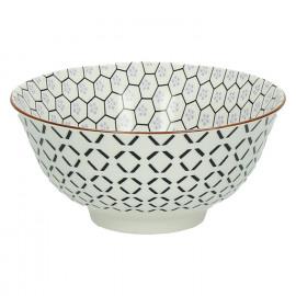 KASHGAR - bowl M  - porcelain - lavender - D15x7