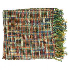 URBAN GARDEN - plaid - 100% cotton - 130x170cm