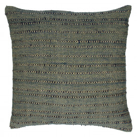B SUITE  - cushion- 100% cotton - shades of blue/green- 45x45cm