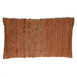 B SUITE  - kussen  - 100% cotton- orange tinten - 30x50cm