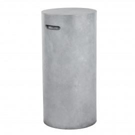 FIBRE - chaise bar - fiberflex - DIA 37 x H 76 cm - gris clair