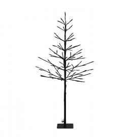 TRAE - 88 led light tree - metal - black - M - h100 cm - IP20GS transfomer