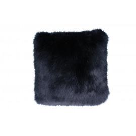 FURBY - deco kussen - donkerblauw - 45x45 cm
