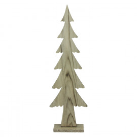 CRAFT - suspension de noël - bois - L 15 x W 6 x H 49 cm