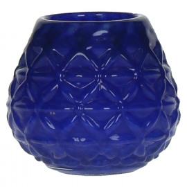 TINTED  - T/light - Glas - Blauw - Ø 11,5 x 10 cm