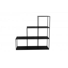 ZEN - rek - metaal - zwart - 105x35xh105 cm